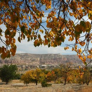Sarkanās ielejas klintis, Kapadokija, Turcija #03