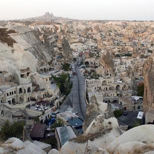 Goreme ciemats, Kapadokija, Turcija #17