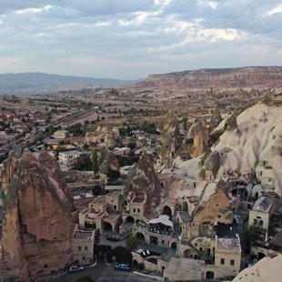 Goreme ciemats, Kapadokija, Turcija #21