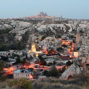 Goreme ciemats, Kapadokija, Turcija #23