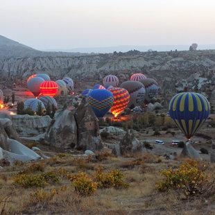 Gaisa baloni, Goreme, Kapadokija, Turcija #24